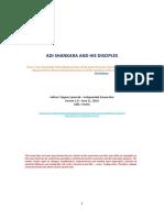 ADI SHANKARA AND HIS DISCIPLES - Version 1-0