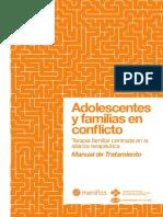 Manual Adolescentes y Familia en Conflicto