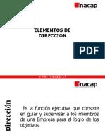 Elementos de Dirección- 2019