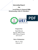 Internship Report on Aslam Javed Flour Mill Sadiq Abad