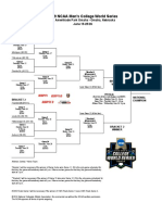 College World Series Bracket
