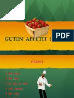 Was Essen Sie Gern Powerpoint