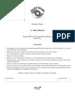 Vunesp 2009 Pm Sp Soldado Da Policia Militar Prova