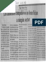 Edgard Romero Nava - Los Aumentos Compulsivos No Benefician a Ningun Sector - Correo Del Caroni 16.02.1990
