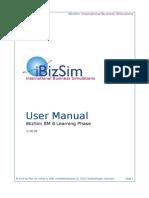 User Manual Learning Phase V1606