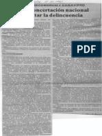 Edgard Romero Nava - Urge Una Concertacion Nacional Para Enfrentar La Delincuencia - El Impulso 11.02.1990
