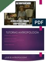 TUTORIAS ANTROPOLOGÌA