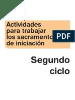 Actividades Sacramentos de Iniciación