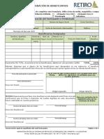 Designacion de Beneficiarios ASR-PA 094