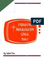 Unidad Uno Env.
