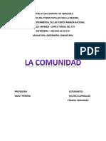 Republica Bolivariana de Venezuela Comunitaria