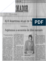 Edgard Romero Nava - Aspiramos a Economia de Libre Mercado - El Informador 20.07.1990