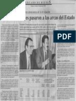 Edgard Romero Nava - Bs 38.800 Millones Pasaron a Las Arcas Del Estado - Economia Hoy 01.06.1990