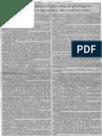Edgard Romero Nava - Consecomercio Alerta El Peligro de Posible Repunte de Inflacion - El Expreso 01.06.1990