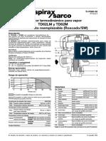Purgadores Termodinámicos TD62M Roscado