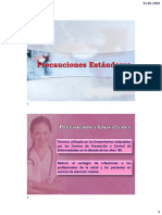 Precauciones Universales EN MANIPULACION DE UTENSILIOS