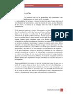 Cuarto Informe ''Permeabilidad''