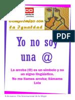 932155-Ficha Especial 8 de Marzo de 2011
