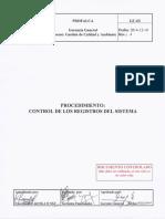 GC-03 Control de Los Registros Del Sistema