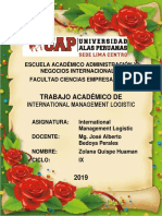 Trabajo Academico International Management Logistic