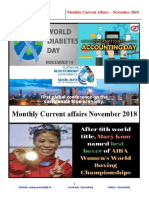 November Monthly Current Affairs 1