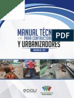Manual Tecnico Urbanizadores y Constructores v2017 Noviembre-2017 (1)