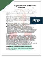 Inmunologia - Expresion Genica Del Sistema Inmune y Diferenciacion de Las Celulas T