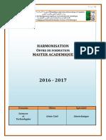 Programme Master Géotechnique