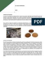 Productos Pesqueros y Su Valor Agregado