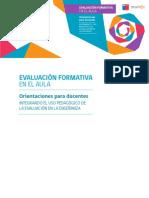 Evaluacion Formativa en El Aula. Orientaciones Para Docentes