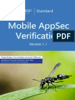 OWASP Mobile AppSec Verification Standard 1.1.3 Document