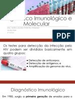 Diagnóstico Imunológico e Molecular