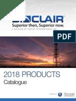 Sinclair 2018 Product Catalog