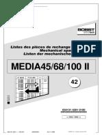 Catálogo Media 45, 68 e 100 II