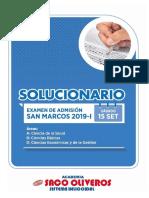 Solucionario San Marcos (15 Set 2019)