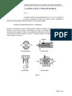 Clasificación y Tipos de Bombas- Residuales