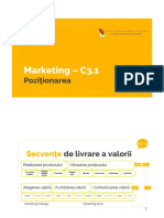 Marketing - C3 - Pozitionare - 1