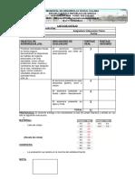 Lista de Cotejo OA9 OCTAVOS