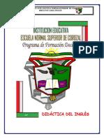 Modulo Didactica Ingles