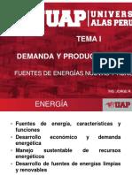 Tema 1 - Demanda y Producción de Energía
