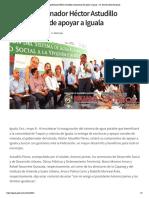 08-05-2019 Reitera gobernador Héctor Astudillo compromiso de apoyar a Iguala.