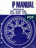 Honda 90 Manual de Servicios