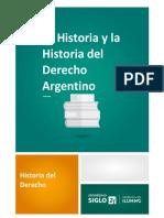 La Historia y la Historia del Derecho Argentino.pdf