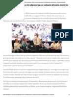 11-05-2019 Inaugura el gobernador Héctor Astudillo la Tercera Cumbre Interamericana de Profesionistas y Empresarios.