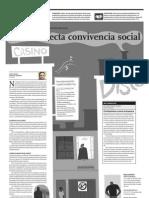 El Ruido Afecta Convivencia Social