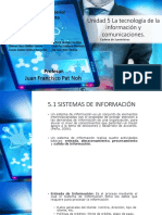 Unidad 5 La Tecnología de La Información y Comunicaciones.