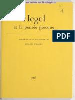 Hegel par Dhondt