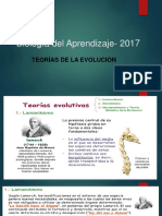 Teorías de Las Evolución-2017