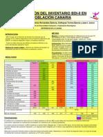Validación BDI-II en población canaria