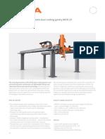 Laser Cutting Gantry KR70 LP_EN